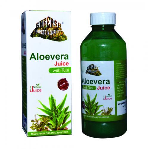Aloevera Juice with Tulsi