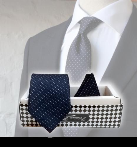 Premium Tie (With Pocket Square)