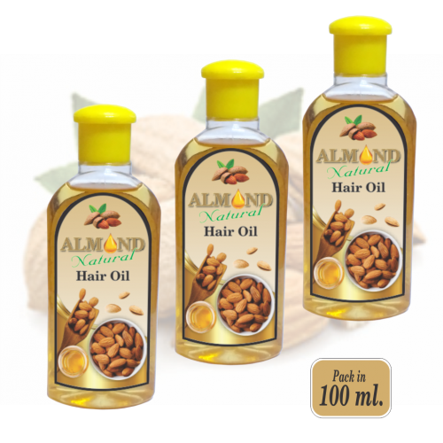 Almond Natural Hair Oil