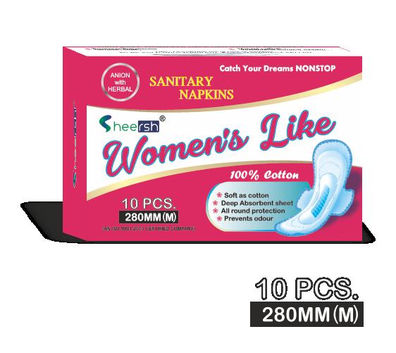 Women's Like Sanitary Napkins (280 mm)