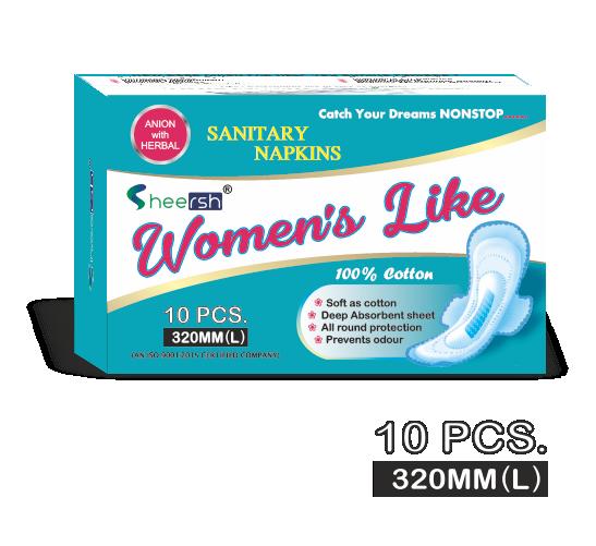 Women's Like Sanitary Napkins (320 mm)
