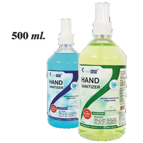 Sheersh Hand Sanitizer (500 ml.)
